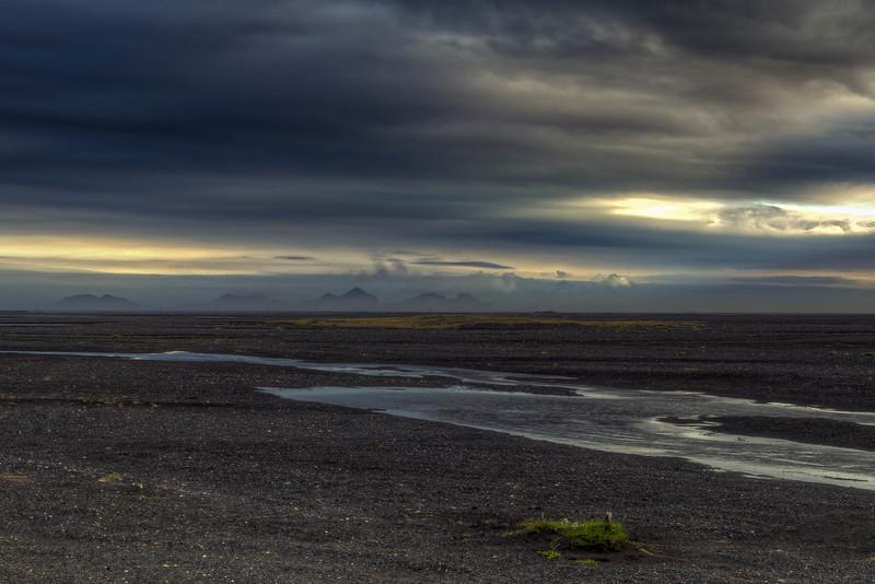 Lava Field Landscape, South Iceland