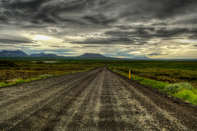 Dirt Road, South Iceland