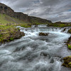 Stream Along Route-1, East Iceland