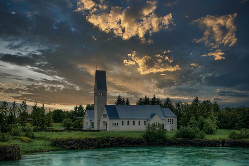 Church, Selfoss