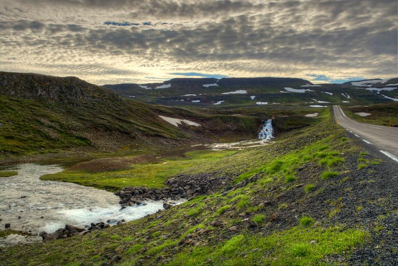Stream, Seydisfjordur, East Fjords Iceland