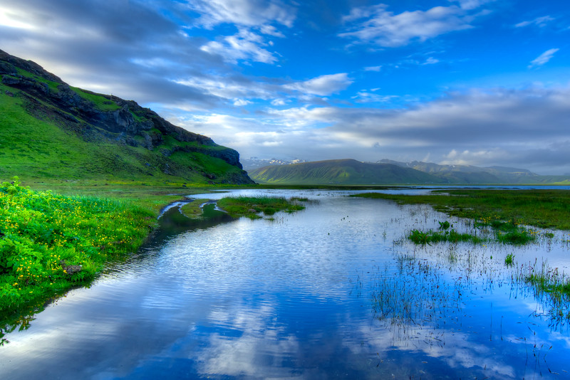 Reflection, South Iceland