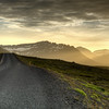 Sun Rays, East Fjords Iceland