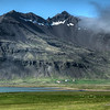 Farm Under Mountain, South Iceland