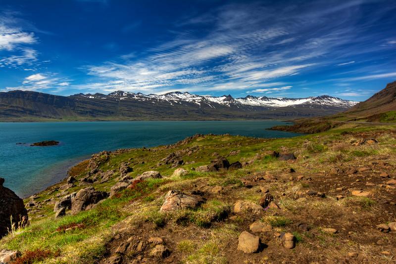 Mountain Range, East Fjords Iceland