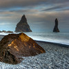 Rock, Vik Beach, South Iceland