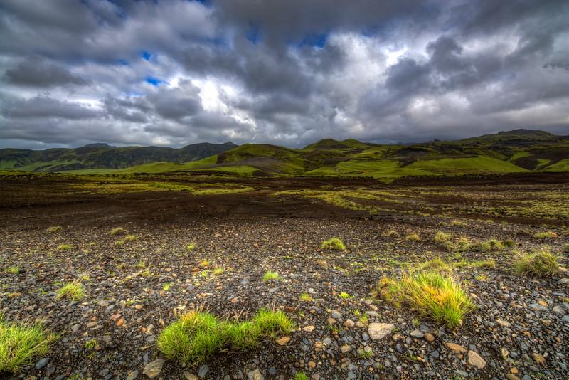Landscape, Pakgil, South Iceland