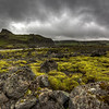 Bridge In Moss Covered Lava Field, South Iceland