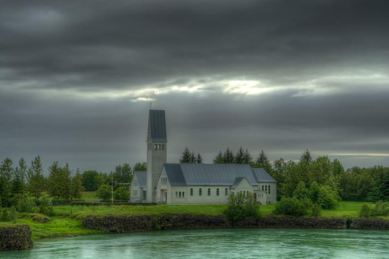 Selfosskirka Church, Selfoss South Iceland