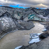 Myrdalsjokull Glacier Edge, South Iceland