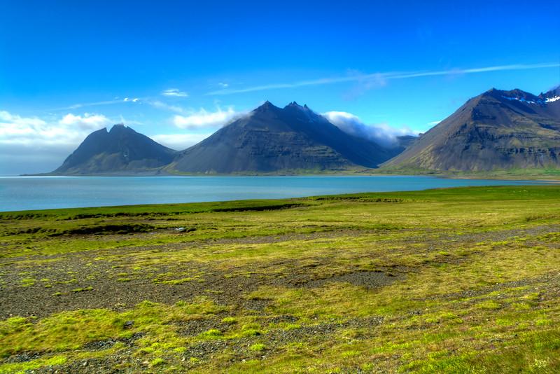 Three Peaks, South Iceland