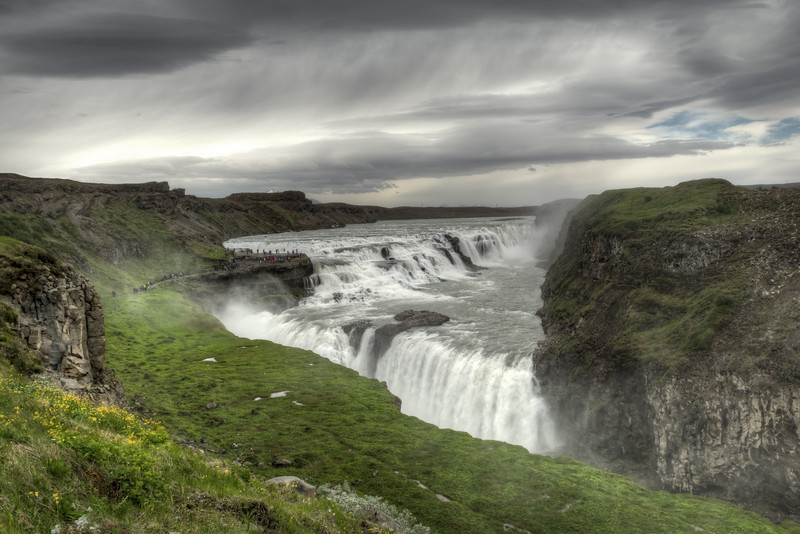 Gullfoss Waterfall # 2, South Iceland