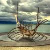 Sun Voyager Sculpture, Reykivik Iceland