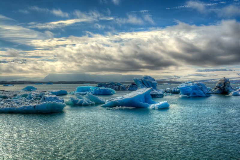 Icebergs # 2 Jokulsarlon Lagoon,  East Iceland