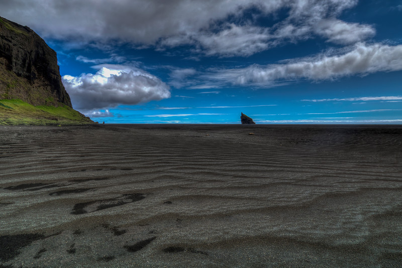 Lava Covered Beach , South Iceland