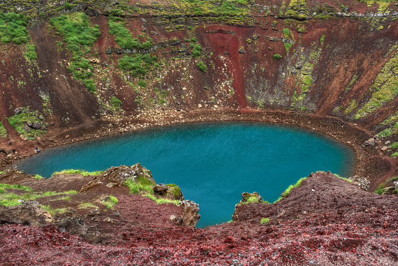 Kerio Crater,  South Iceland