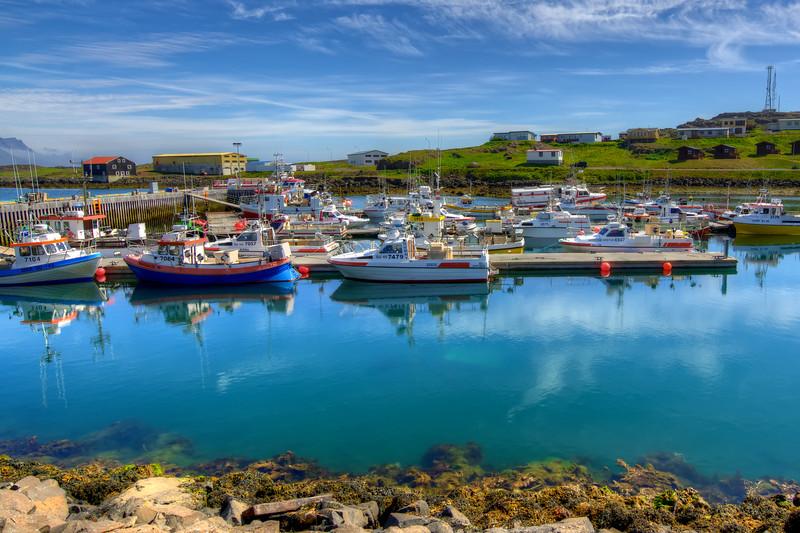 Boats, Djupivogur, East Fjords Iceland