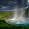 Seljalandsfoss Waterfall # 1,  Sudurlandsvegur, South Iceland