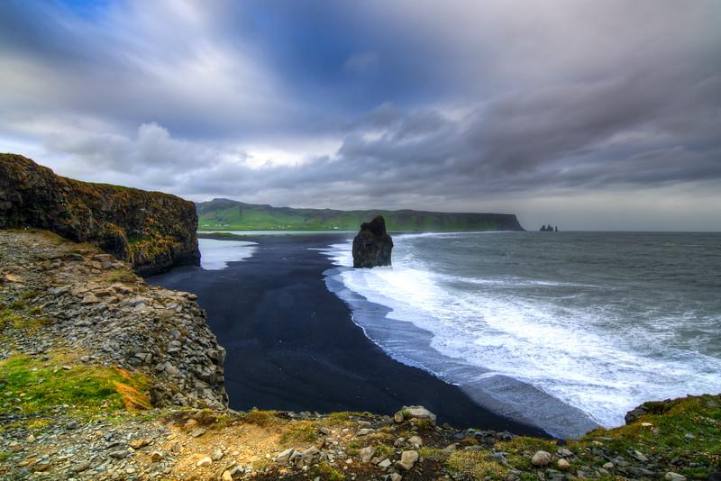 Clouds Over Reynisfjara, Iceland