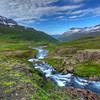 Mountain Stream, Seyoisfjorour, East Fjords Iceland
