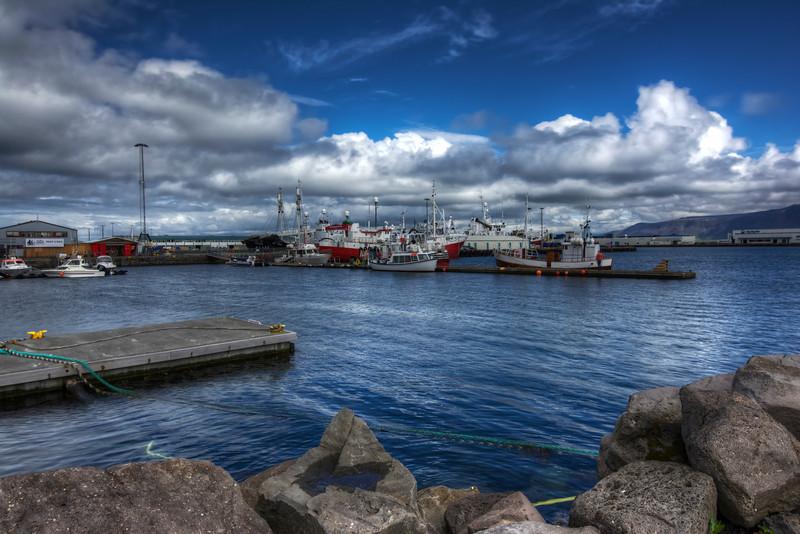 Reykjavik Harbor,  Reyjanes Iceland