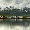 Town Of Seyoisfjorour, East Fjords Iceland