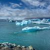 Icebergs # 4 , Jokulsarlon Lagoon, East Iceland