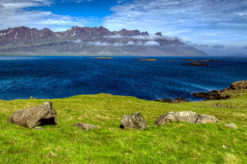 Mountain Lake, East Fjords Iceland