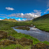 Iceland # 1, Stream In South Iceland