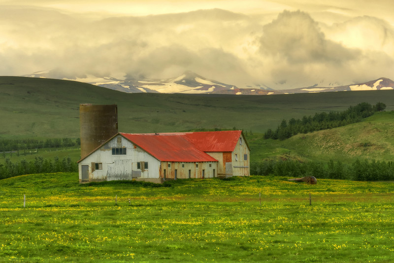 Barn, South Iceland