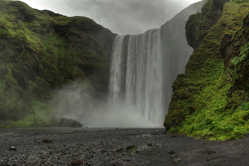 Skagafoss Waterfall, South Iceland # 1