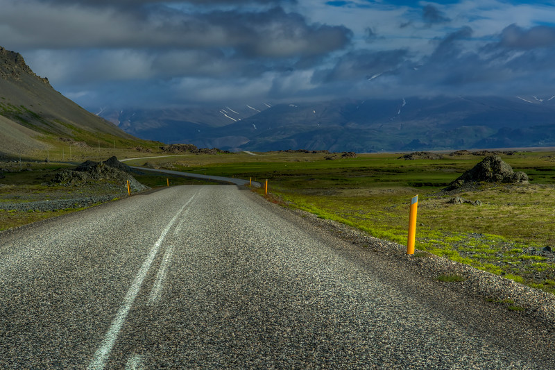 Winding Road, East Iceland