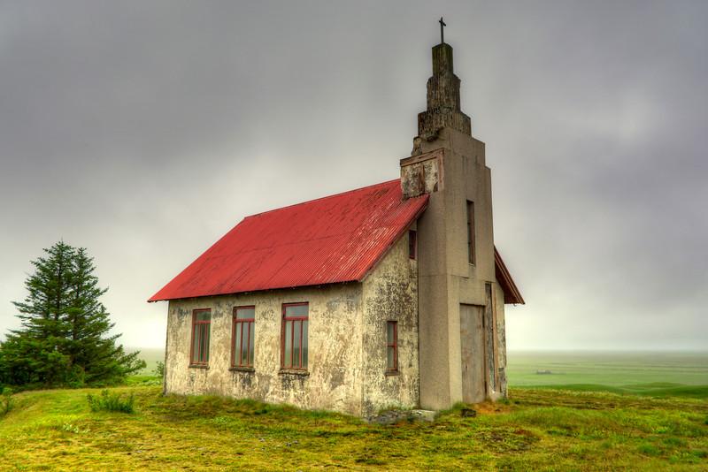 Church, Pykkvibaer South Iceland