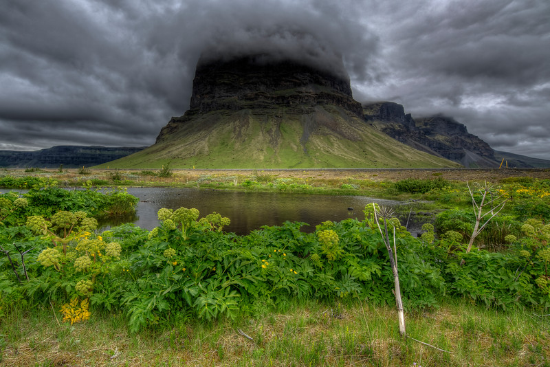 Iceland # 3, Mountain In South Iceland