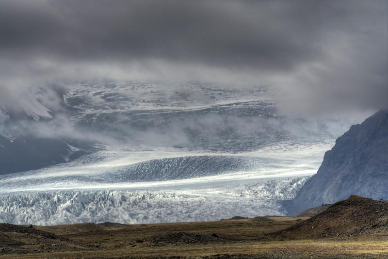 Skaftafell Glacier, South Iceland
