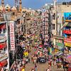 City life - Main Bazar, Paharganj, New Delhi, India