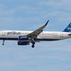 "JetBLue ""Simon Says JetBlue"" on final for runway 4R Boston Logan"