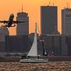 American Airlines flgiht 85 departs Boston for New York, JFK. N108NN