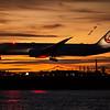 Japan JL8 for Tokyo arriving in Boston. Boeing Dreamliner 787-900. Reg JA864J