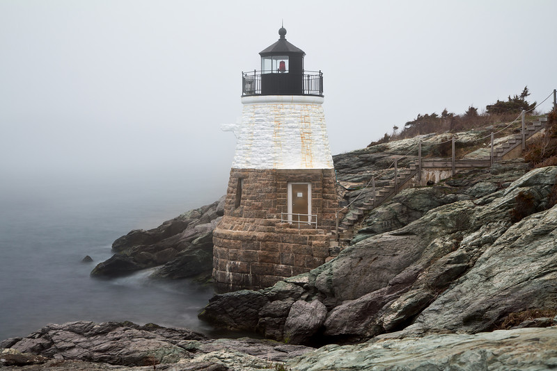 Castle Light , Rhode Island.