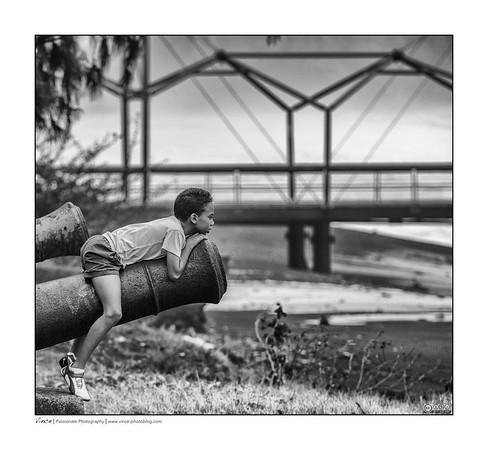 Enfant au canon