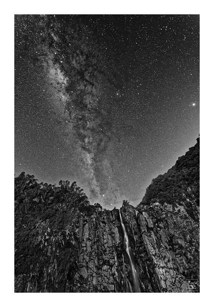 Voie Lactée à la Cascade Niagara