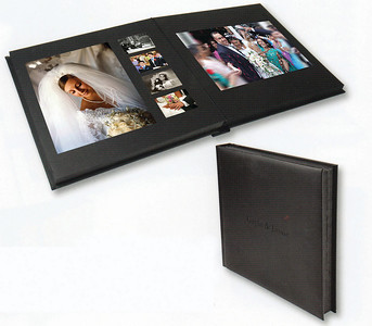 The Apeture album is the top of the tree when it comes to the ultimate in luxury and quality. The Apeture is a matted overlay album sized at 14 x 14 inches with a maximum of 25 spreads (50pages). The album cover is constructed using the finest genuine leather sourced from one of the most highly respected tanneries in the country