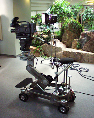 Side by side Sony HDcam rig.