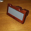 My IMAX 3D viewer design in wood donated to Roman Kroitor