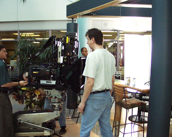 3D rig test for James Cameron with Joel and Claude Richard.