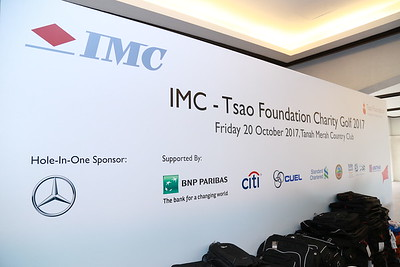 IMC-Tsao Foundation Charity Golf 2017