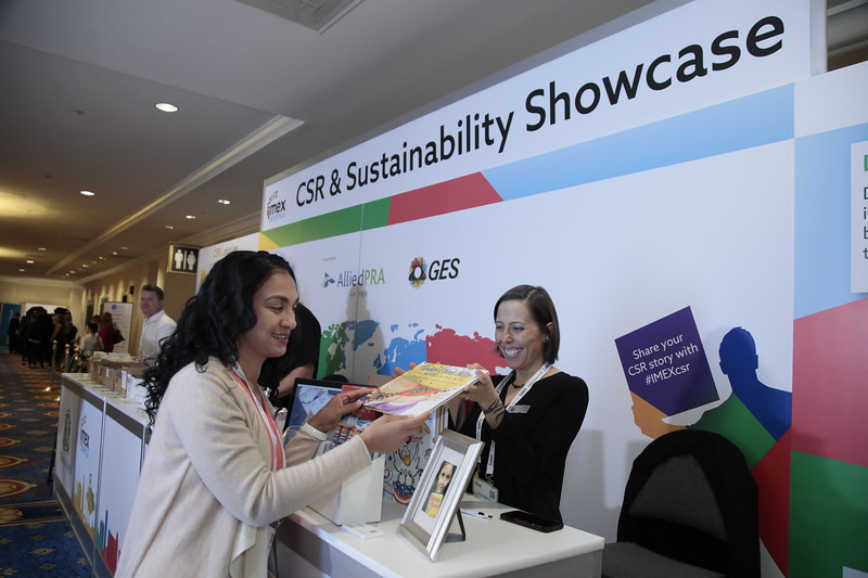 Book donations at the CSR and Sustainability Showcase