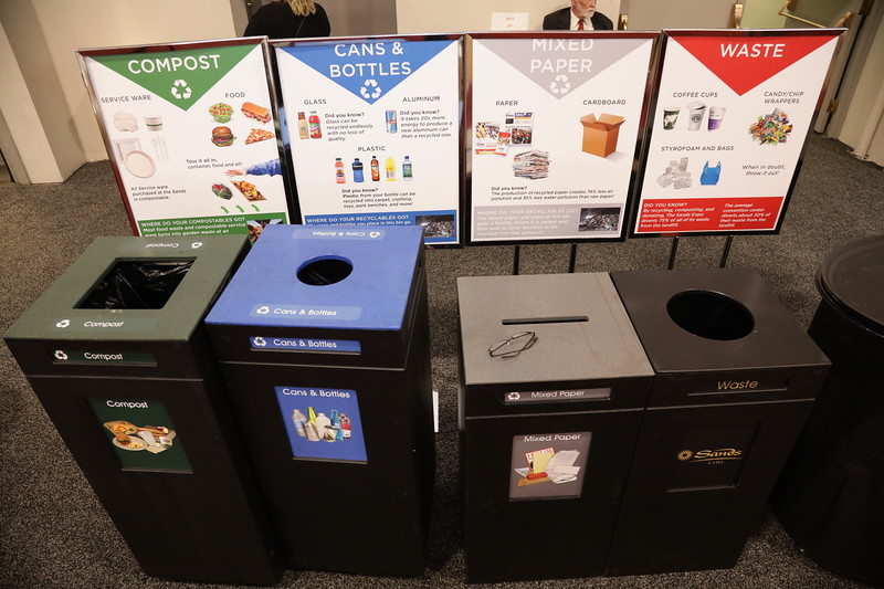 Recycling at IMEX America