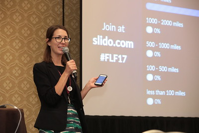 IMEX's Sarah Skavron opens the Future Leaders Forum